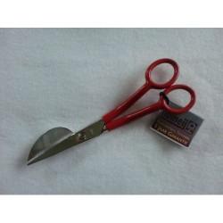 Applicatieschaar gesmeed/vernikkeld met kunststof handles