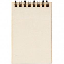 Houten doosje notitieboekje